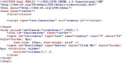 Countdown Ticker using Javascript | Pranav Dave's Blog